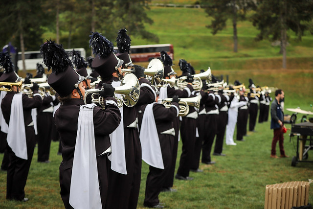 Northeast Collegiate Marching Band Festival 2017