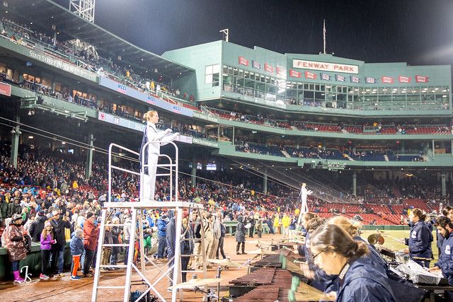 UConn vs. BC at Fenway Park