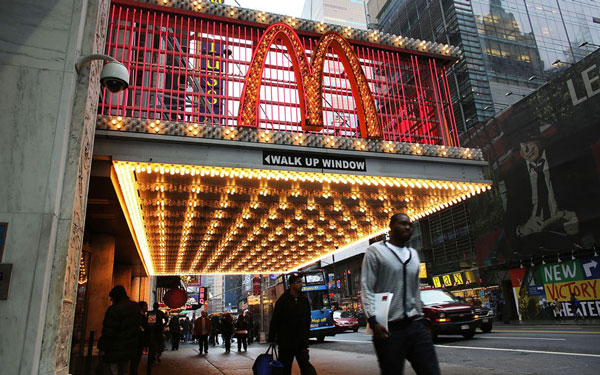 McDonalds at Times Square, New York
