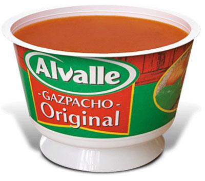 Cold tomato soup Gazpacho