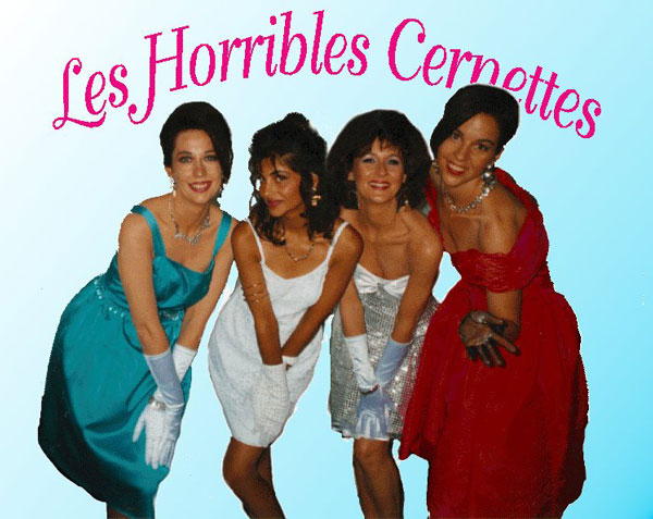Internet First picture of a comedy band Les Horribles Cernettes