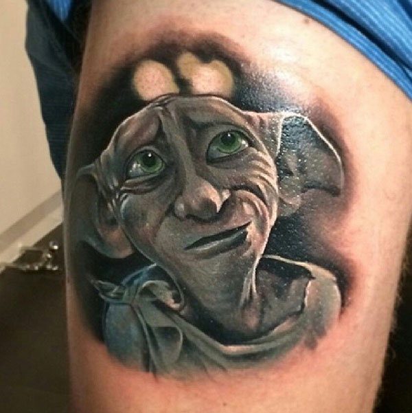 Dobby Harry Potter Tattoo