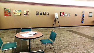 GO Art Show 2013 South Wall