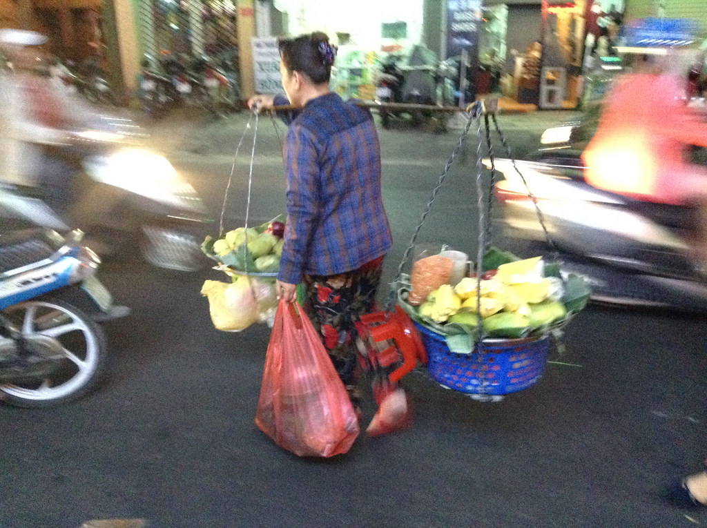 food vendor Saigon