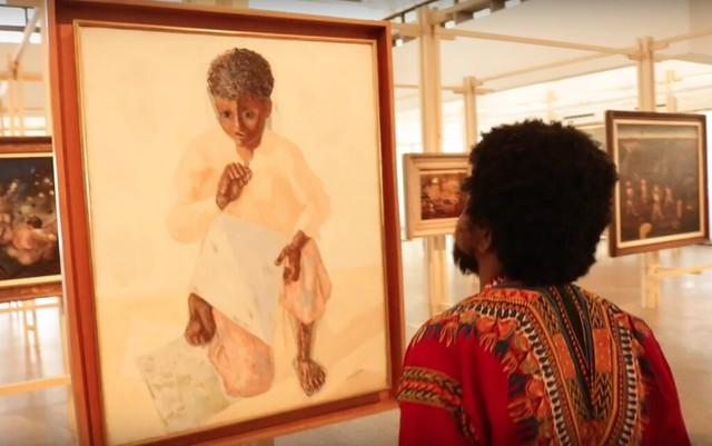 """O artista plástico Moisés Patrício analisa a Exposição """"Portinari Popular"""", no Masp, em São Paulo (SP) - Créditos: Reprodução"""