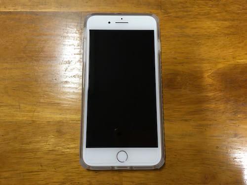 iPhone7 Plusにケースを装着