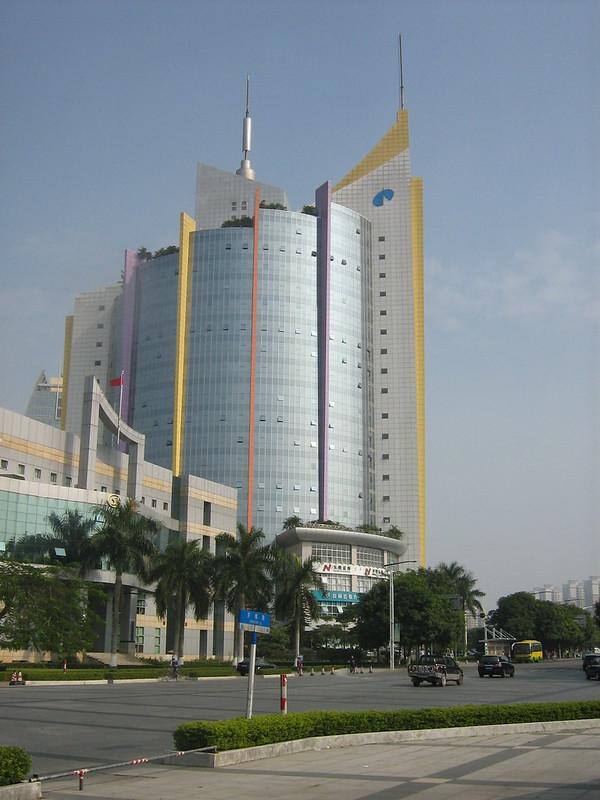 Dongguan (东莞) downtown
