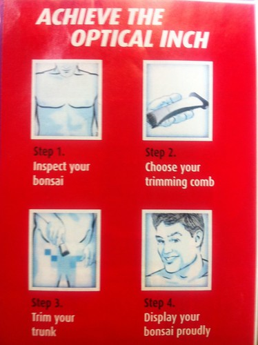 "Funniest shit ever in a brochure for ""Thr Shaver Shop"", for those who need instructions LMAO!"