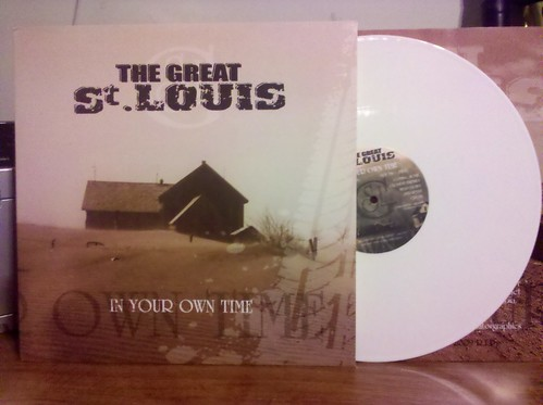 The Great St. Louis - In Your Own Time LP - White Vinyl