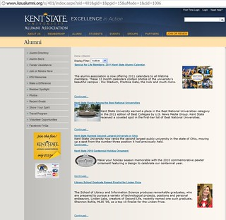 KSU Distinguished Alumnus