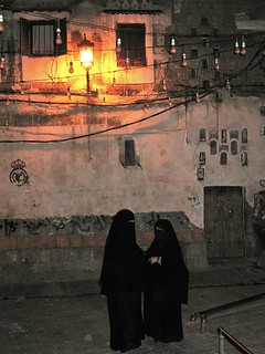 A night chat in Sana'a