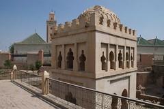 Qoubba Almorávida monumento marraquexe