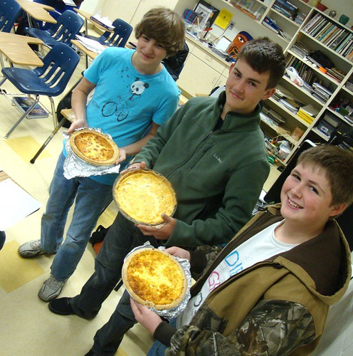 Quiche a la Hunter, Patrick, Austin: Magnet geography,  France by trudeau
