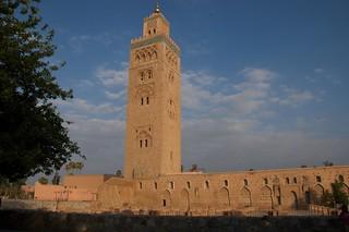 Mesquita da Koutoubia em Marraquexe, Marrocos