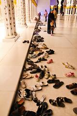 80,000 shoes, 0 shoe racks