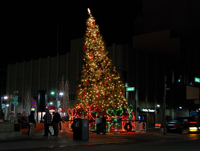The Leaning Christmas Tree Of Reno