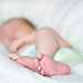Baby feet by Leslie Straessley