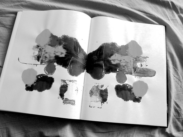 artistic ink blot test