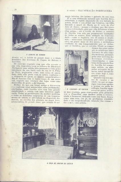 Ilustração Portugueza, 1900s - 22