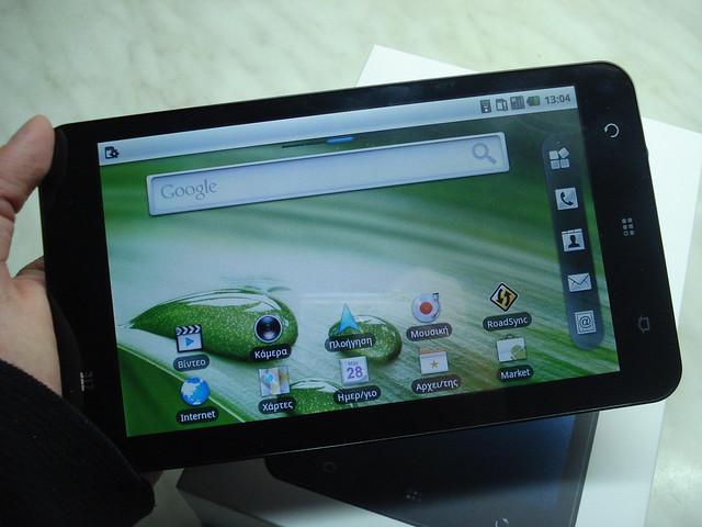 tablet zte v9 pad Display