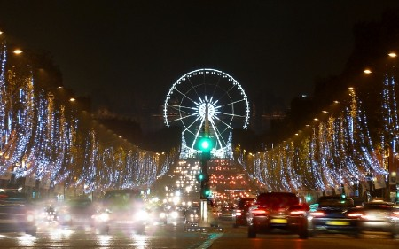 Christmas in Paris - Champs Elysées à Noël