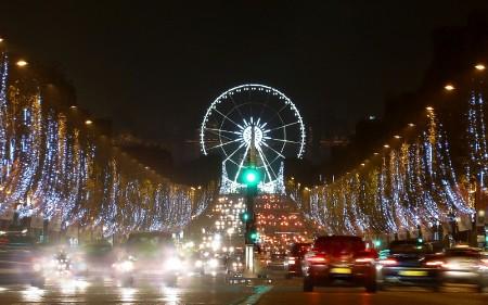 Christmas in Paris - Champs Elysées à Noël