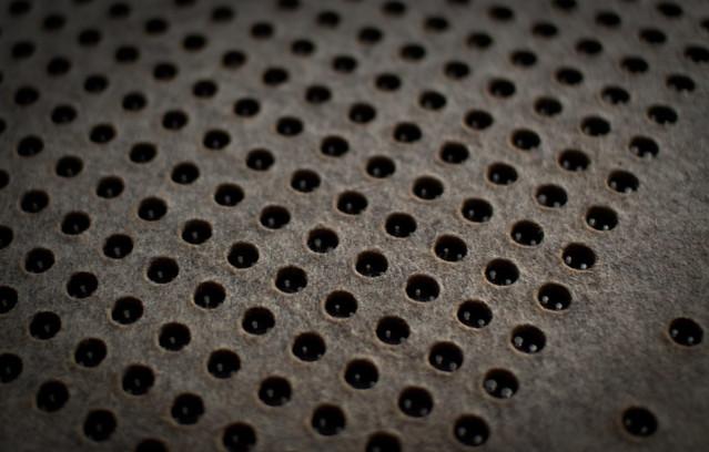 Physical Tone Matrix: Felt on Plexiglass Base