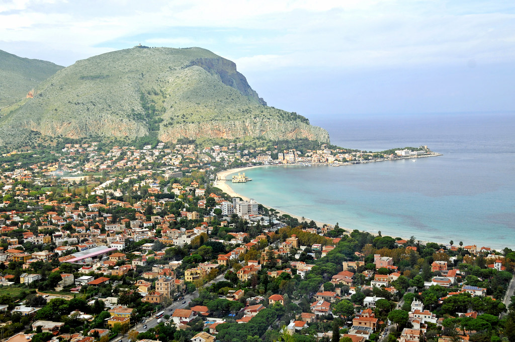 View of Mondello, Palermo - Quick Trip to Palermo