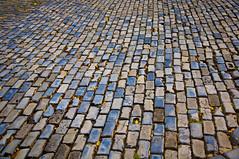 Old San Juan's Blue Brick Roads