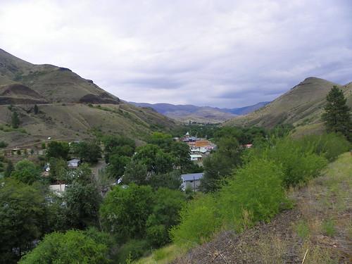 White Bird, in the valley of White Bird Creek
