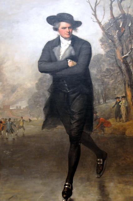 Gilbert Stuart The Skater Portrait Of William Grant At