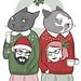 christmas card 2010 by jen oaks