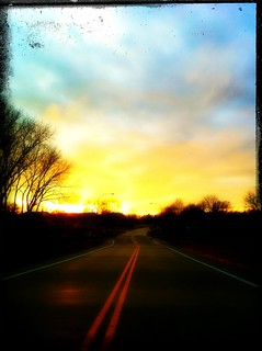 Taking the road to the sun #iphoneography