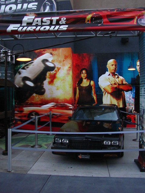 news travel fast furious cars display universal studios singapore
