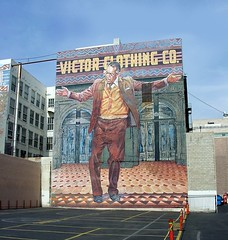 Photo: Victor Clothing Co mural