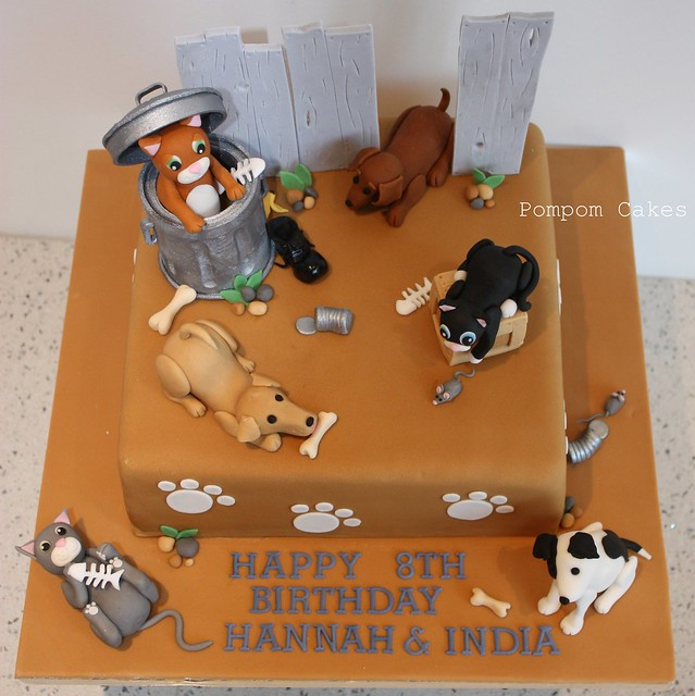Cat and dog cake Flickr - Photo Sharing!