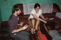 <p>Praying for healing from malaria and typhoid. She was healed and is up and praising the Lord.</p>
