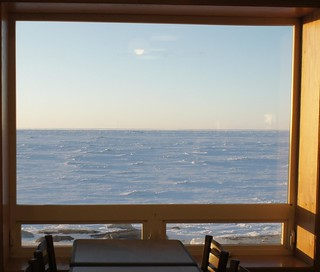 Nome Restaurant view of Bering Sea