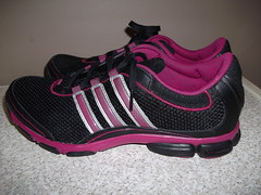 cross training shoe, outdoor shoe, running shoe, magenta, sneakers, footwear, shoe, athletic shoe, pink, black,