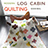 the modern log cabin quilting group icon