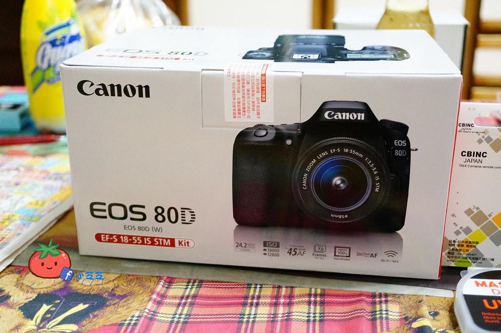 CANON 80D開箱 18-55 50 1.8