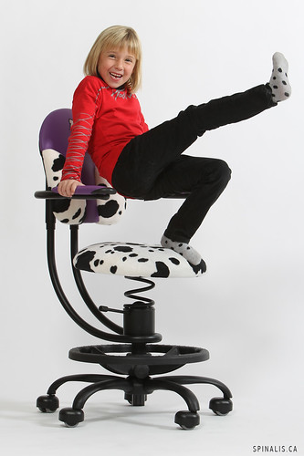 What is the best chair for a very active kid at SpinaliS Canada