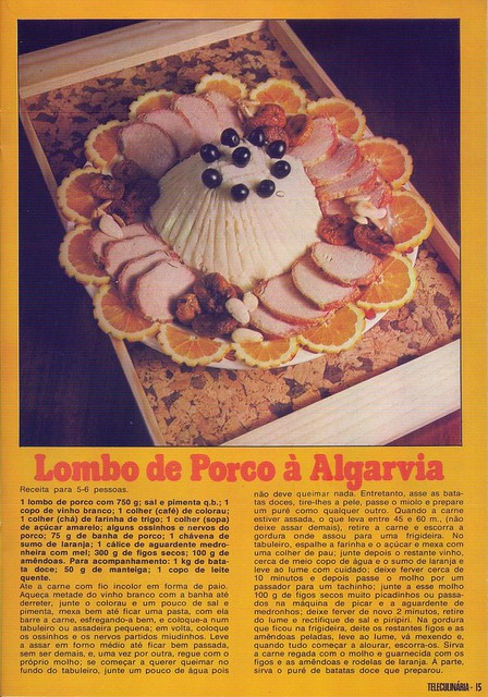 Tele Culinária e Doçaria, Especial Outono, Setembro 1980 - 13