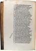 Pointing hand annotation in Lucanus, Marcus Annaeus: Pharsalia