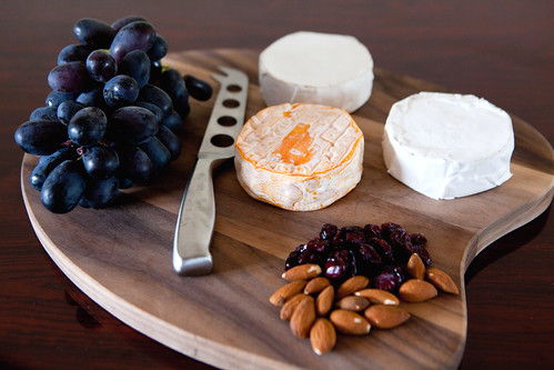 Cheese tray with MouCo cheeses