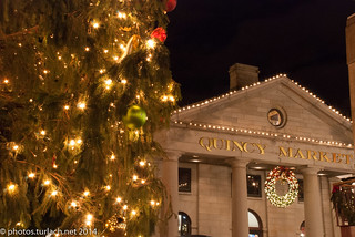 Quincy Market at Christimas