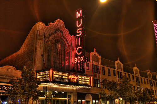 Musicbox Theatre, Lakeview Neighborhood, Chicago, IL