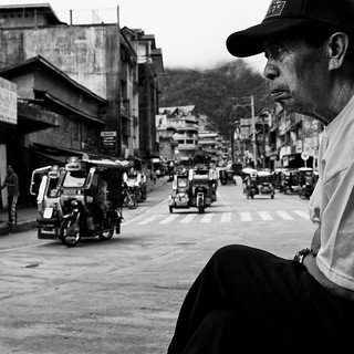 Observing Bontoc Main Street