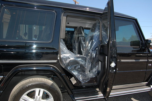 Armored bulletproof mercedes benz g550 suv for Mercedes benz g550 suv