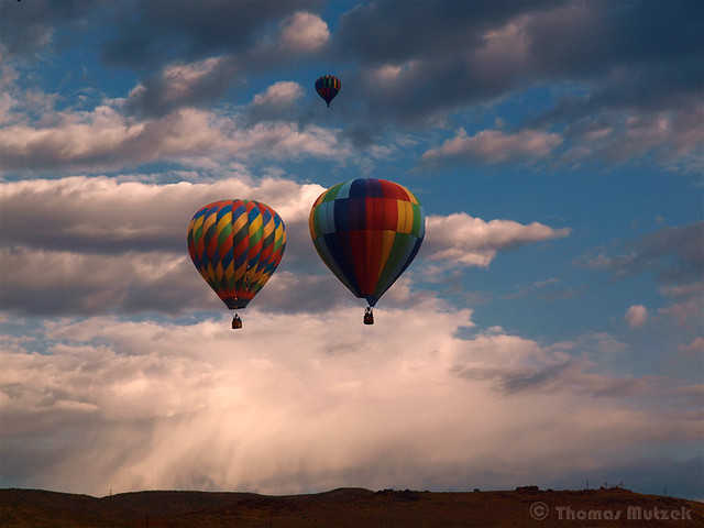 Hot Air Balloons, Nevada, 2009